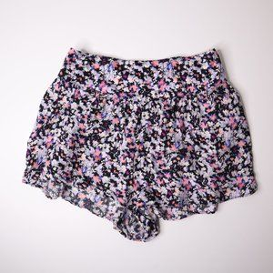 American Eagle Outfitters Floral Flowy Shorts S/P